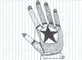 Gothic Glove Design by FrameofReality