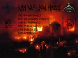 MOGH(2012)burn your local mosque  back by lapidation2012