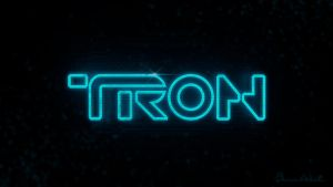 TRON Logo Alpha by polygonbronson