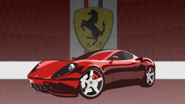ferrari by tygun