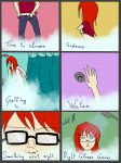 People with glasses will understand - Shower time by Wel-Hinnigen