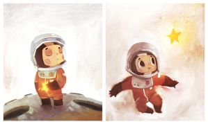 Tiny Cosmonaut by Duffzilla