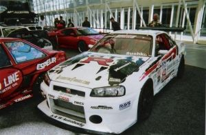 Nissan R34 Skyline GT-R Race Car by granturismomh