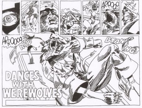 Captain America into Werewolf by Stonegate