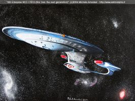 USS Enterprise NCC-1701D by shintetsuya