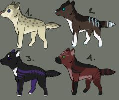 Dog POINT Adoptables by Mustang-ADOPTS