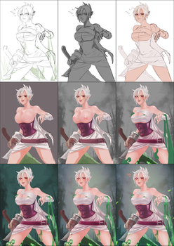 Riven - Step by step by YUNZ302