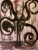 Slenderman by ButterflyBlink