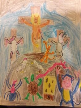 Easter has been desecrated by Evometheus6082