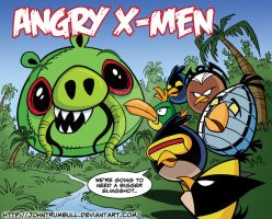 LIID 133: Angry Birds X-Men! by johntrumbull
