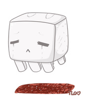 MC:  Cutie Lil Ghast by TheLonelyQueen