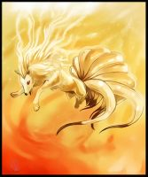 Ninetales by Elsouille
