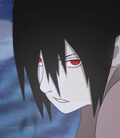 Uchiha Sasuke - Colored by coldrainz