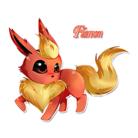 Flareon by nenychan123