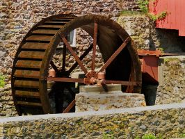 Red Mill 4 by Dracoart-Stock