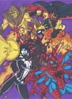 Maximum Carnage Tribute Part 5- Team Carnage by RobertMacQuarrie1