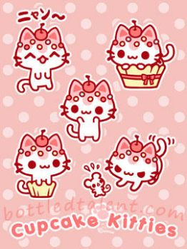 Cupcake Kitties Revisited by celesse