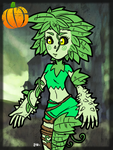 #HalloweenMonsterGirls - Mandragora by theEyZmaster