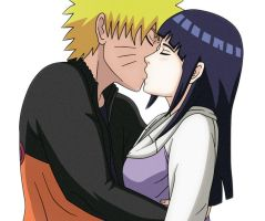 NaruHina Kiss Love by NaruHina64