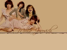 Milla Jovovich Blend by frozeinmotion