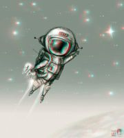 SpaceMan 3-D conversion by MVRamsey