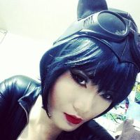 catwoman cosplay trial by serinanires
