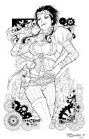 Lady Mechanika by Maria Laura Sanapo by TheInkPages