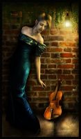The Violinist by cosmosue