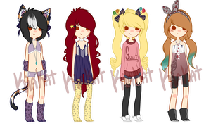 Adopts 10 { CLOSED } by Mysteryy-Adopts