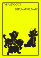 Bizet, Matisse, Marie - The Aristocats by lestath87