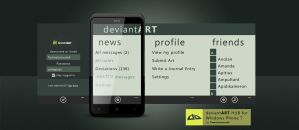 deviantART HUB for WP7 by TomasJanousek
