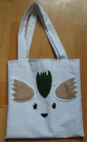Noishe tote bag front by Lil-Samuu