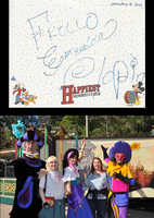 Autograph from Frollo, Esmeralda and Clopin by ChristineFrollophile