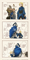 DARK SOULS COMIC YAY by lovelett77