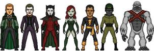 YJ Injustice League by KnightHawk93