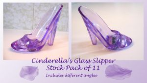 Cinderellas Slipper Stock Pack by SimplyBackgrounds