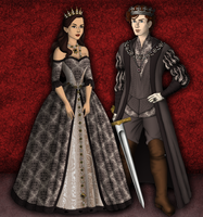 The King and Queen in the North by SingerofIceandFire