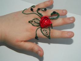 Wild rose ring by feathas