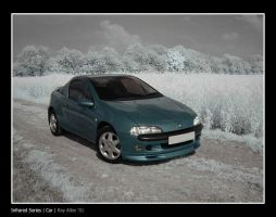 Infrared - Car by Raymate