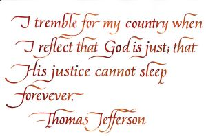 Thomas Jefferson - I Tremble For My Country by MShades