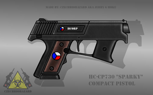 Fictional Firearm: HC-CP730 Compact Pistol by CzechBiohazard