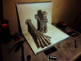 3D Drawing - no title by NAGAIHIDEYUKI