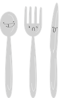 YAY SILVERWARE by RoomsInTheWalls