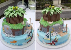 Windwaker cake by Shadowtail11