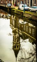 Reflection in canal 121425 by meriwani