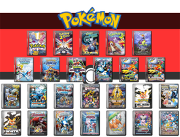Pokemon Complete Movie Icon Collection 1999 - 2015 by WimboJallis121