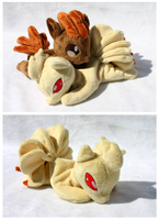 Ninetales Beanie Plush by FollyLolly