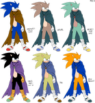 Boom Palettes: Sonic by General-RADIX