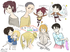 More Shingeki poopies by NappyNapkin