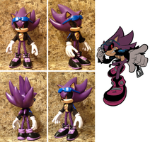 custom 5 inch Super Scourge figure by HyperShadow92